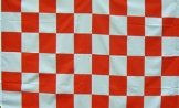 Red & White Flag Aberdeen