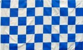 Blue & White Flag