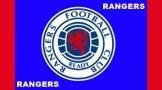 Rangers FC Crest Flag