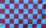 Claret & Blue Flag