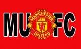 Man Utd Crest MUFC Flag