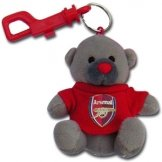 Arsenal FC Keyring Bear