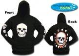 Halloween Kids Skull Hoodie St Pauli