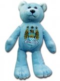 Man City Beanie Bear