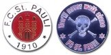 St Pauli Badge Set