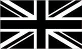 Giant Black Union Jack Flag 5ft x 3ft
