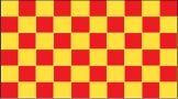Red & Yellow Checkered Flag