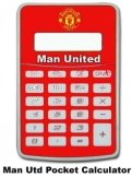 Man Utd Pocket Calculator Manchester United