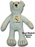 Real Madrid Beanie Bear