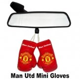 Man Utd Mini Boxing Gloves Manchester United