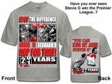 Stevie G Kiss My Arse T-Shirt Manchester United