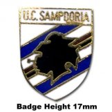 Sampdoria Pin Badge