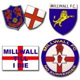 Millwall Pin Badge Set