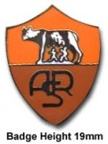 AS Roma Crest Pin Badge