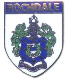 Rochdale AFC Crest Pin Badge