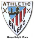 Athletico Bilbao Crest Pin Badge