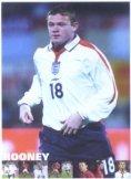 Wayne Rooney Laminated Poster Manchester United