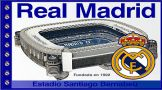 Real Madrid Stadium Flag