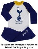 Spurs Football Crest Kids Pyjamas