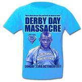 Man Utd 1 - Man City 6 Massacre T-Shirt