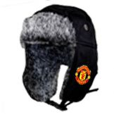 Man Utd Crest Fur Hat Manchester United