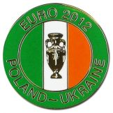 Ireland Euro 2012 Pin Badge