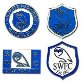 Sheffield Weds Pin Badge Set