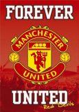 Man Utd Forever Wall Poster Manchester United