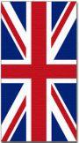 Union Jack Flag Towel