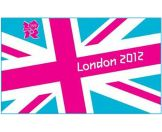 London 2012 Team GB Union Jack Flag