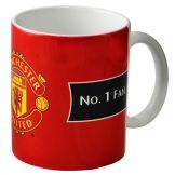 Man Utd No.1 Fan Crest Mug Manchester United