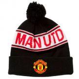 Man Utd Crest Bobble Ski Hat Manchester United