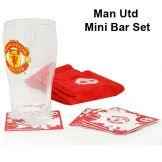 Manchester United Mini Bar Set Manchester United