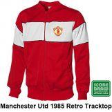 Man Utd 1985 Retro Tracktop Manchester United