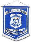 Cardiff City Football Pennant