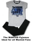 The Wanted Band Girls Pyjamas Set