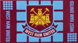 West Ham United Crest Flag