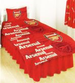 Arsenal FC Single Duvet Set