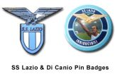 SS Lazio Pin Badge Set
