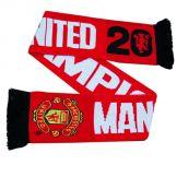 Manchester Utd 2013 Champions Scarf Manchester United