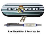 Real Madrid Crest Pencil Case & Pen Set