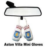 Aston Villa Mini Gloves for Car