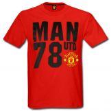 Manchester United 78 Crest T-Shirt Manchester United