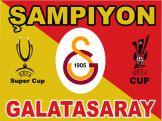 Giant Galatasaray Crest Flag