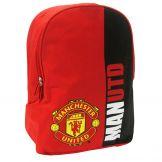 Man Utd Red Devils Crest Rucksack Manchester United