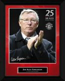 Alex Ferguson Man Utd Legend Framed Print Manchester United