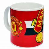 Man United Football Crest Mug Manchester United