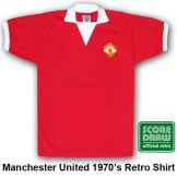 Man Utd 1973 Retro Shirt Manchester United
