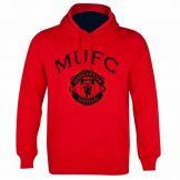 Manchester Utd Crest Hoodie