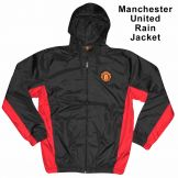 Manchester Utd Crest Rain Jacket Manchester United